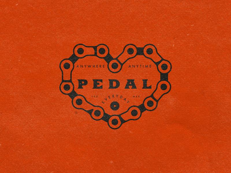 Pedal Everyday chain pedal bike bmx