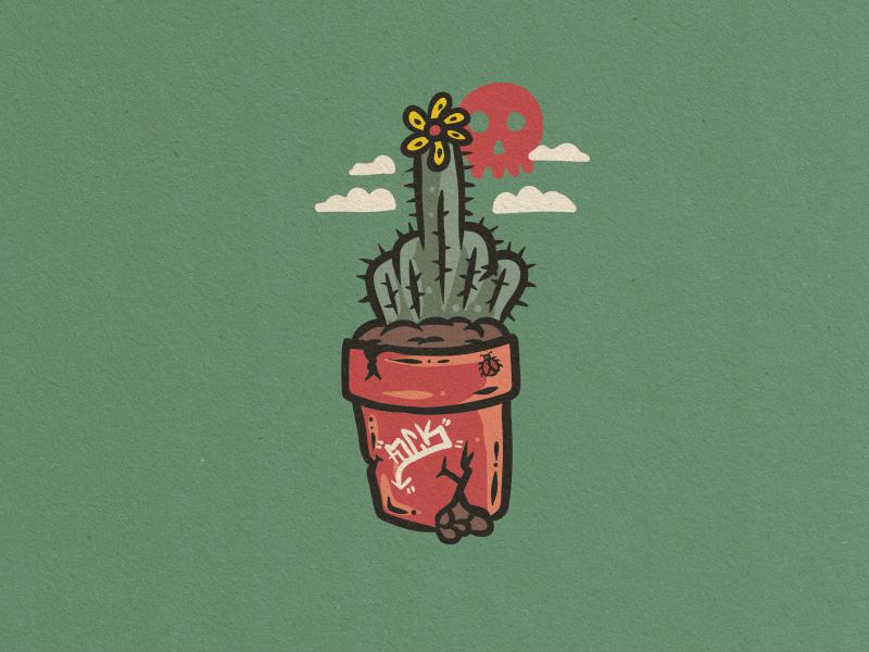 Happy Cactus finger cactus