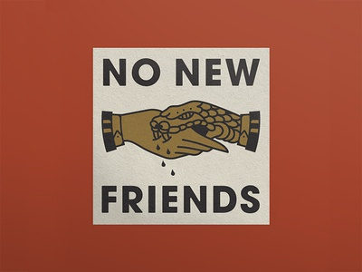 No New Freinds