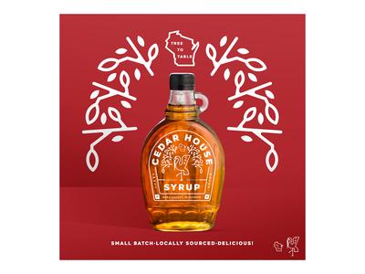 Cedar House Syrup