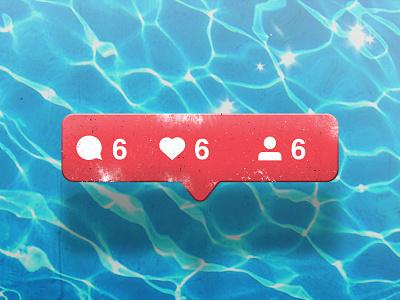 Influencer pool water evil 666 instagram