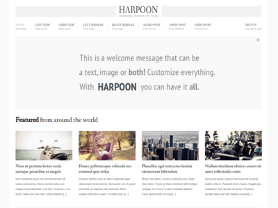 Harpoon - Mainpage