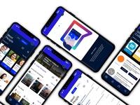 Vieuni: College search assistant app concept