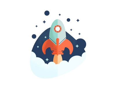 Spaced Out design vector illustration