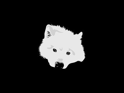 Samoyed samoyed dog vector redbubbleshop redbubble print illustration fudechanart design