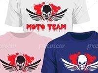 Motor Team T-shirt