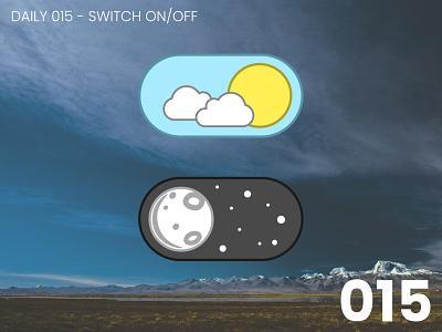 Daily UI #015 - Switch on/off 015 design daily ui dailyui ui 100daychallenge