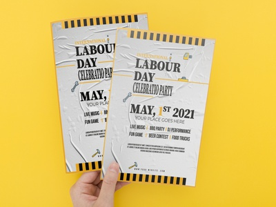 may day typography  flyer patriotic patriot party military memorial day laborday labor day labor july independence day fourth of july fireworks event construction army american america a5 4th of july 3d