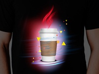 Coffee cup - t-shirt