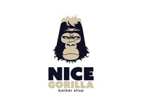 Nice Gorilla barber shop