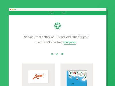 New Site! portfolio website responsive blaine billingsley