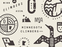 Minnesota Climbers Association Scraps