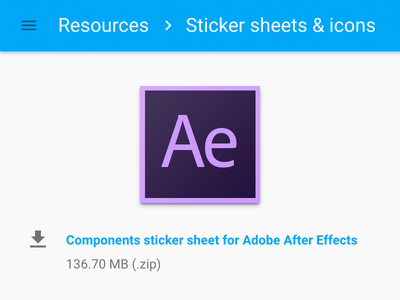 After Effects for Material Design design motion