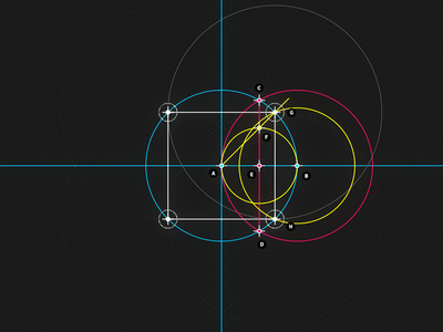 Circle and Line : 04 - Square