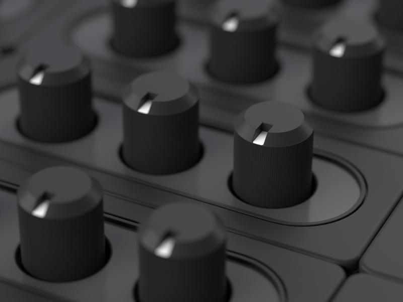 Audio Knob 3d