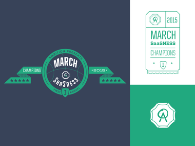 March SaaSness Logo badge logo banner award march-madness