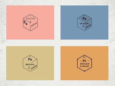 Fe Design & Engineering - Unused Logo Concepts branding logo 26 design engineering iron fe periodic-table