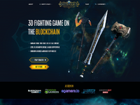 Cryptofights homepage