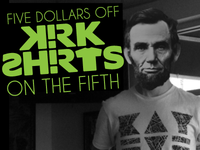Latest Kirk Shirts Promo