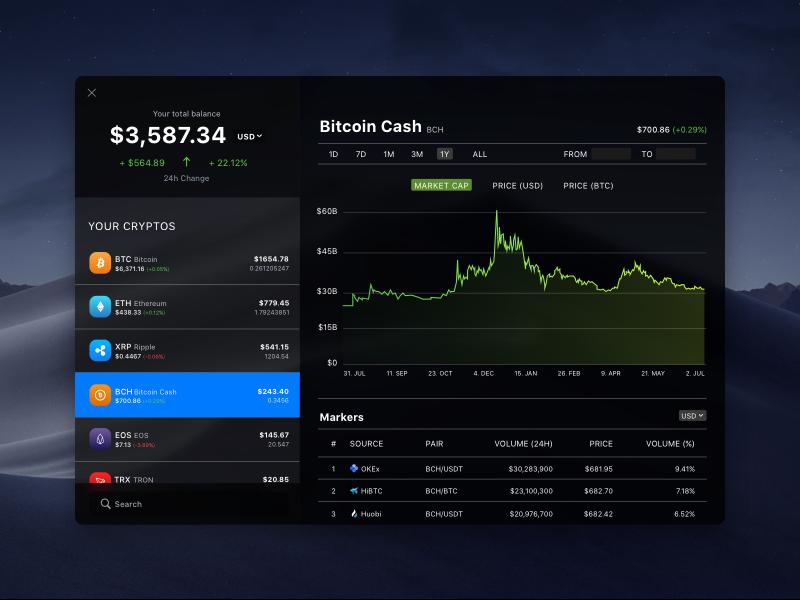 desktop crypto portfolio