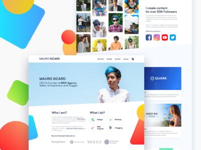 MAURO SICARD (Personal Website)