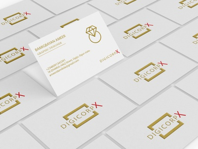 Business Card vector app logo ui illustration adobexd graphic design design branding