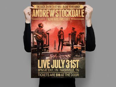 Andrew Stockdale Poster