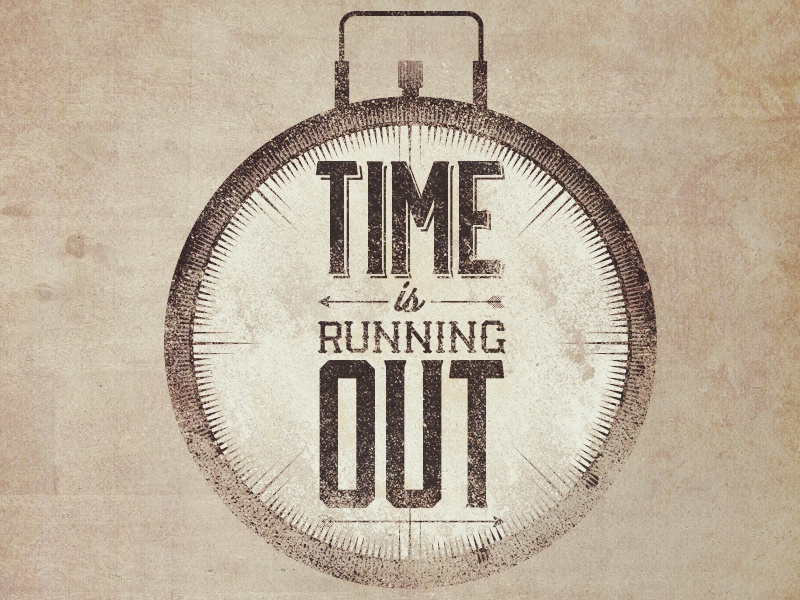 Time Is Running Out By Derek Brown Dribbble Dribbble