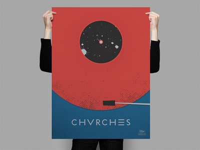 Chvrches Record Poster