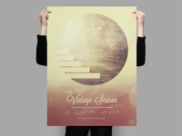 The Vintage Season Braille Poster