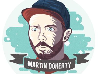 Martin Doherty Sticker