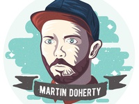 Martin Doherty Sticker