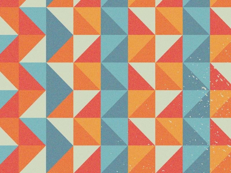 geometric shapes pattern by derek brown dribbble dribbble