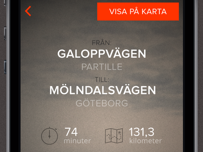 Calculate your road toll app ios ios7 flat thin glyphish driving thin icons road toll driving app