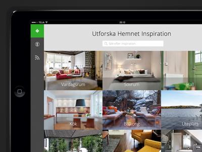 Hemnet Inspiration - iPad app
