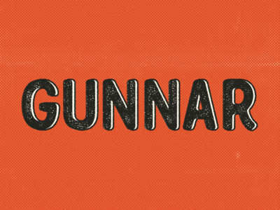 Huge update to Gunnar the typeface