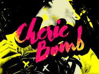 Cheriebomb promos new