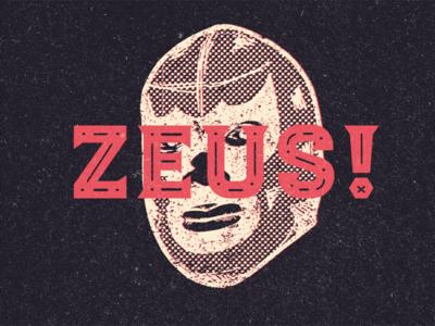 Luchador - Zeus! - New typeface!