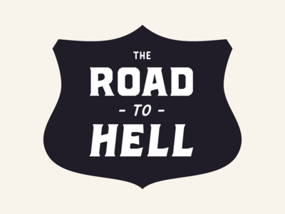 Road to hell - Brickton - Font in progress