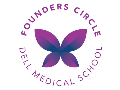 WIP Identity for philanthropic group sans serif purple gradient butterfly school medical dell circle founders