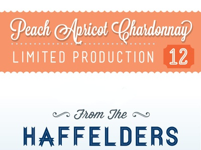 Peach Apricot Chardonnay