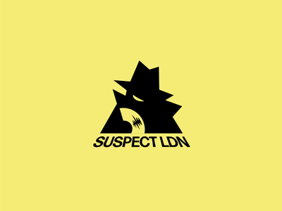 Suspect LDN logo abstract logo creative branding brand identity brand behance project behance abstract designinspiration design