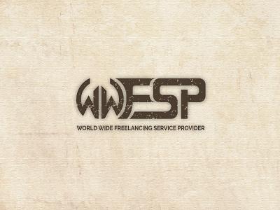 WWfsp logo illustration design 3d logo aktudarawbd branding illustrator typography icon minimalist logo logodesign logo wwfsp wwfsp logo
