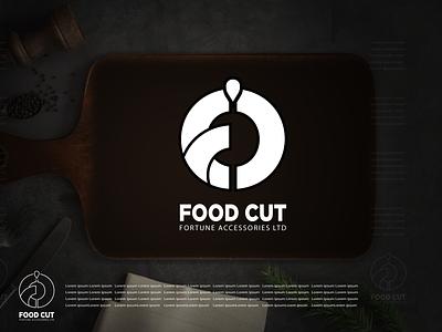 Food Cut logos fortune logo font food