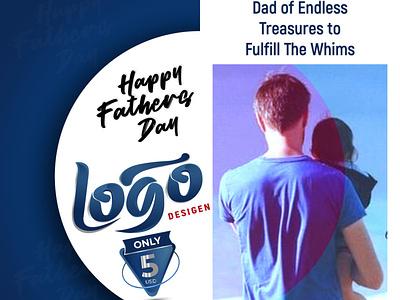 Happy Father's Day icon vector ui illustration design 3d logo minimalist logo branding logo logodesign designgraphicsdesign fatherday happyfathersday