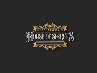 House Of Secret's logo vector illustration icon design 3d logo minimalist logo logodesign branding aktudarawbd logo of secreats house