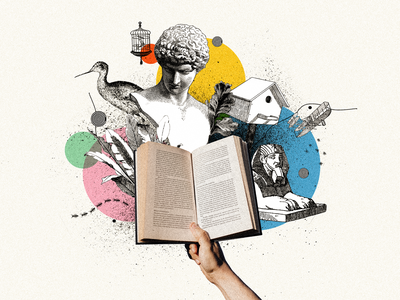 Book black  white colorful statue vintage books book digitalart collage art collages graphicdesign graphic design design photoshop collage digital illustration collage collage maker collageart graphic