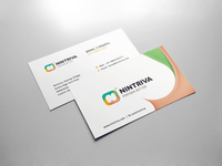 Nintriva - Business Card Design