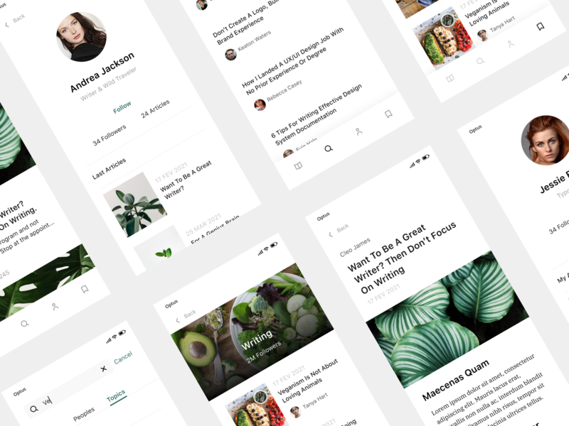 Ellie UI Kit - Screens component components blog design kits free freebies figma blocks block cards card blog visualdesign ui kits ui kit ux ui design ui design app