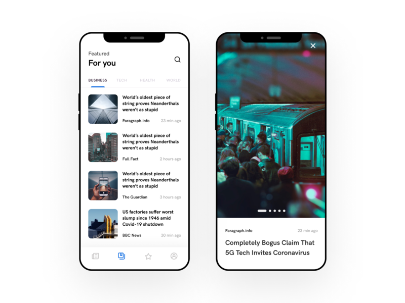 Google News Redesign mobile app news google news google redesign uidesign ui